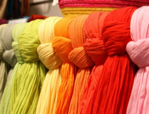 Colour fastness of textiles